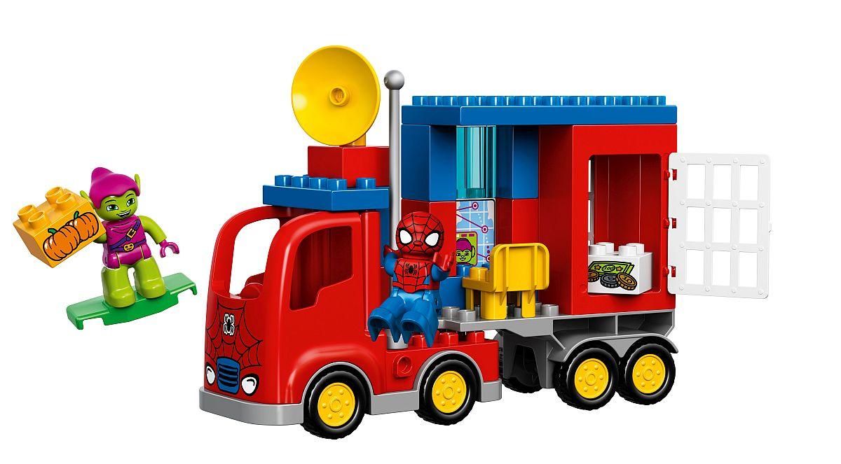 Lego Duplo Spider-Truck-Abenteuer