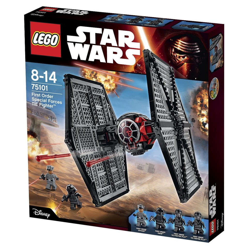 Lego_Star_Wars_75101_First Order Special Forces TIE Fighter_Packung
