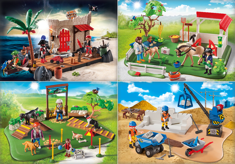Playmobil SuperSets 2015