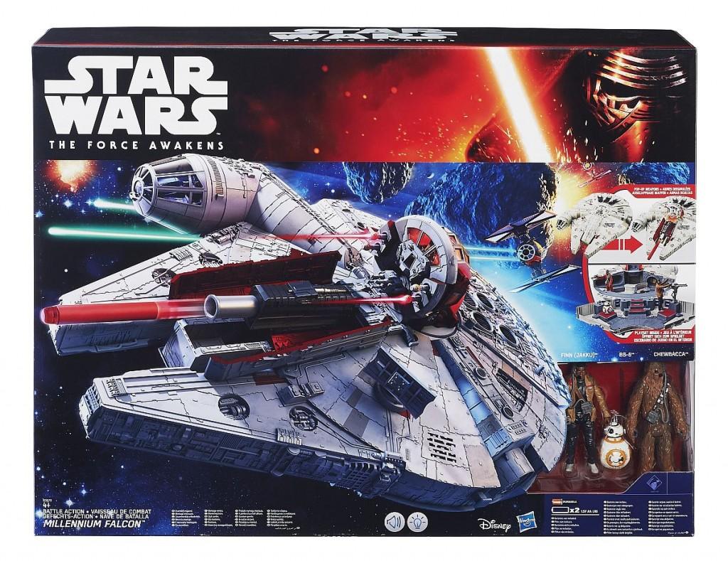Star Wars E7 Millennium Falke Pack