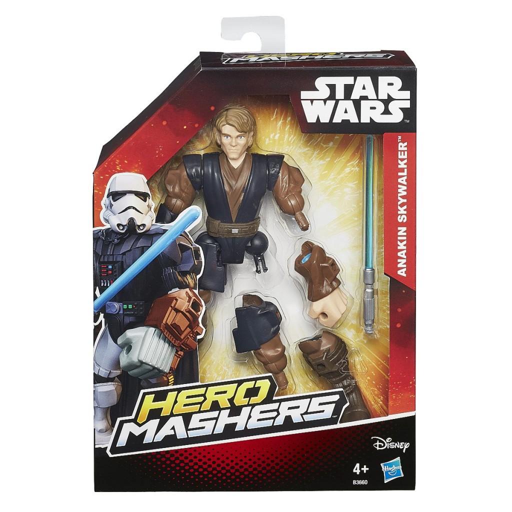 Star Wars Hero Mashers Figuren Anakin Skywalker Pack