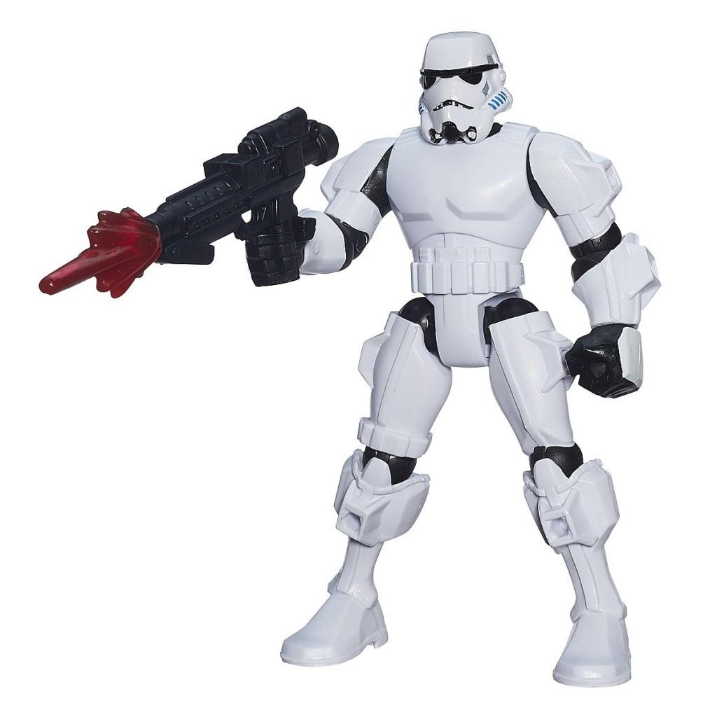 Star Wars Hero Mashers Figuren Stormtrooper Inhalt