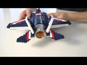 Vorstellung: Lego Blue Power Jet (31309)