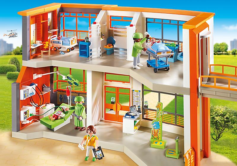 Spielzeug Rund Um Den Neuen Superhelden: Vorstellung: Die Neue Kinderklinik Von Playmobil (6657