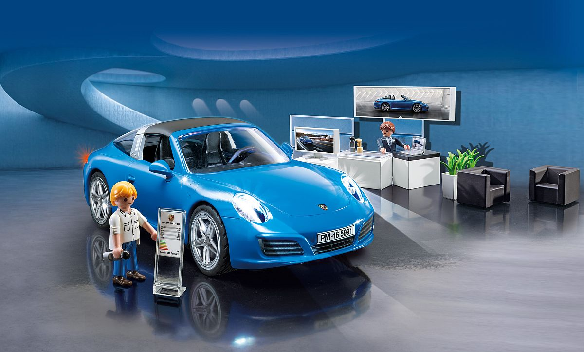 neuer porsche von playmobil der porsche 911 targa 4s 5991. Black Bedroom Furniture Sets. Home Design Ideas