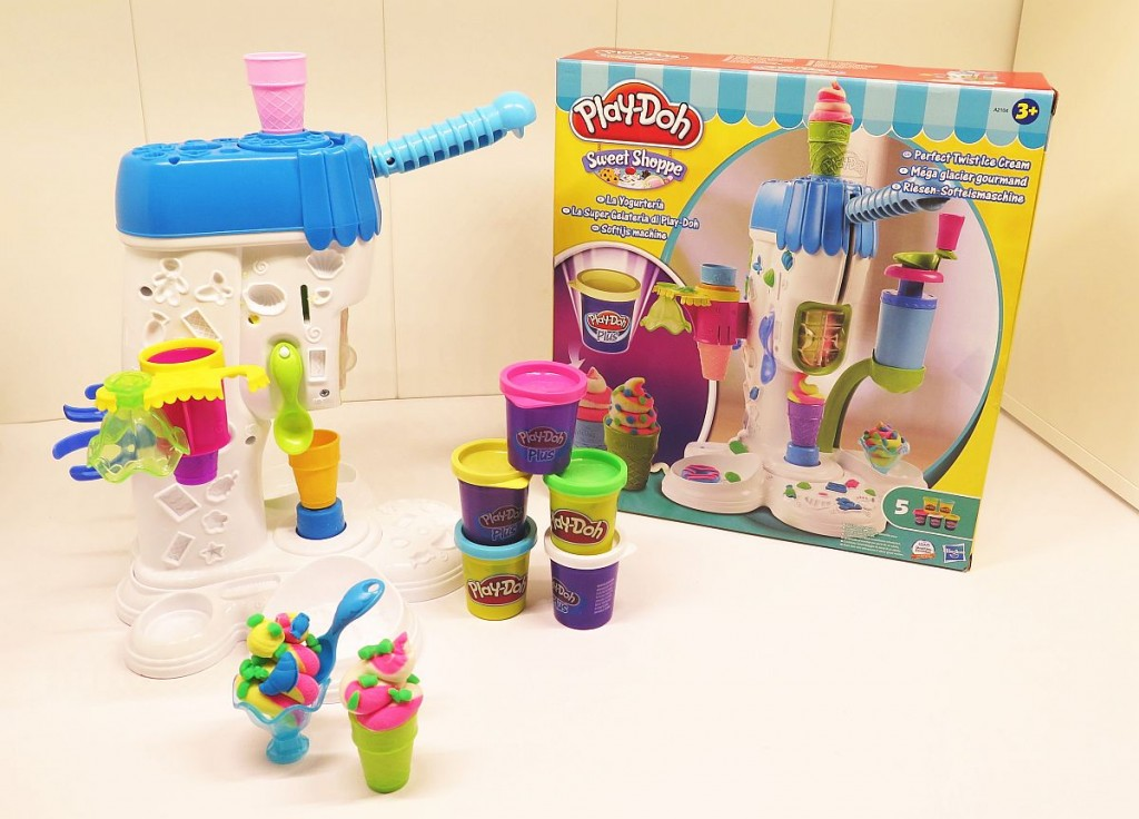 Play Doh Ice Cream Sweet Shoppe Playset Perfect Twist Icecream playdoh-2