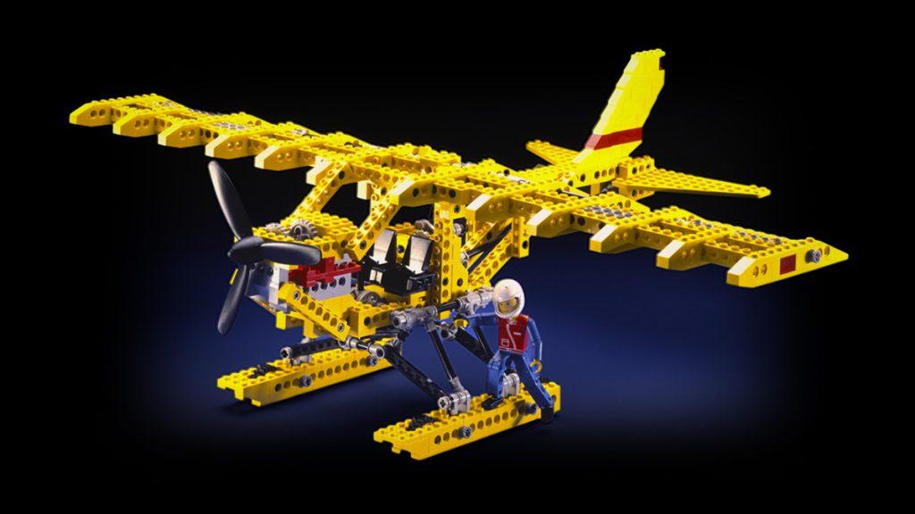 Lego Technic Amphibienflugzeug 1988