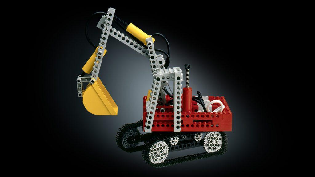 Lego Technic Pneumatik-Bagger 1984