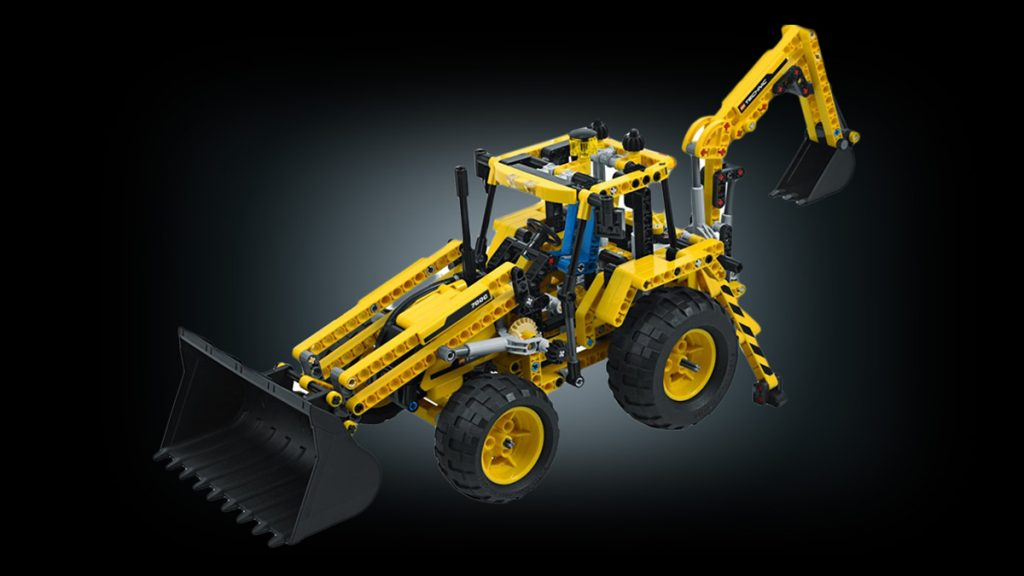 Lego Technic Pneumatik-Bagger 2003