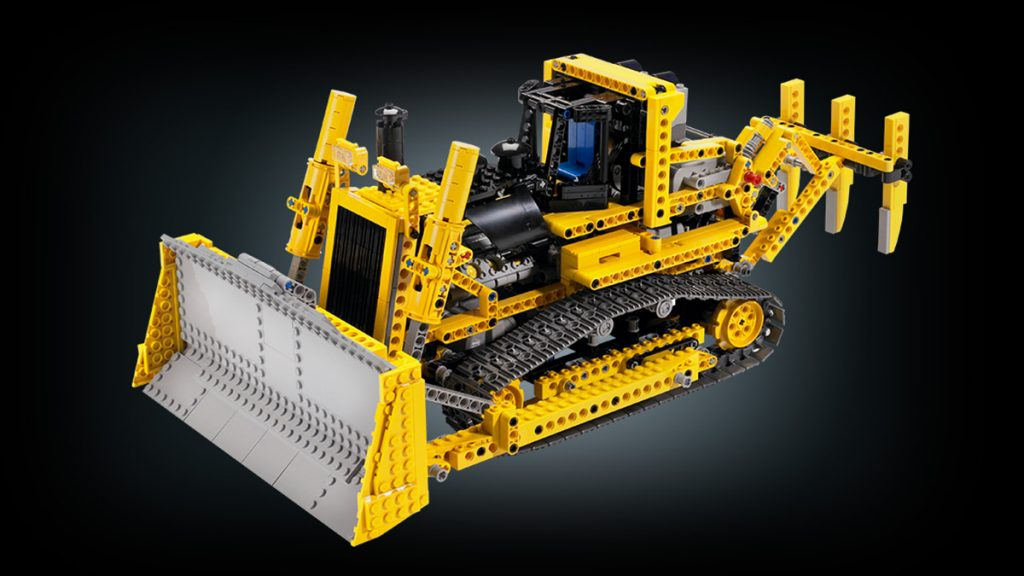 Lego Technic RC Bulldozer 2007
