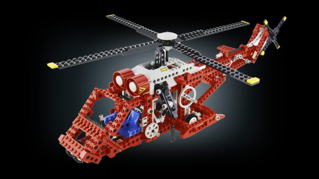 Lego Technic Rettungshubschrauber 1992