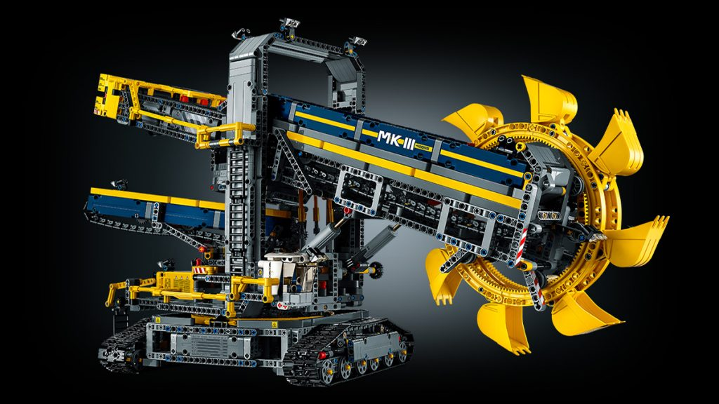 ein streifzug durch 40 jahre lego technic. Black Bedroom Furniture Sets. Home Design Ideas