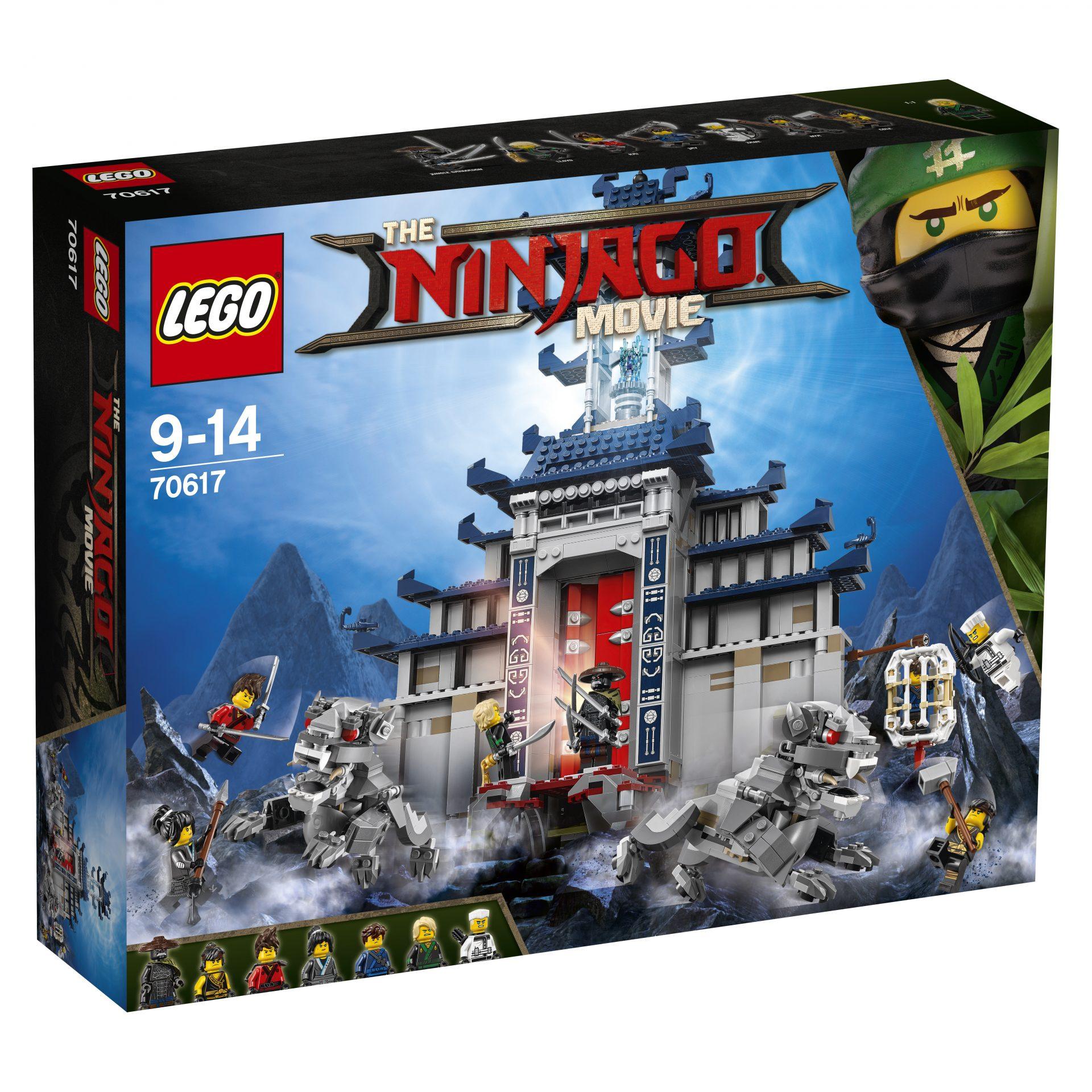 neue lego sets zu the lego ninjago movie. Black Bedroom Furniture Sets. Home Design Ideas