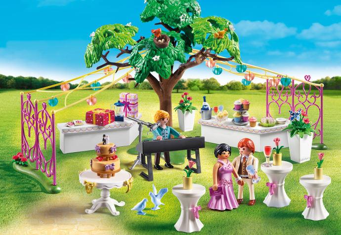 Hochzeit feiern, Braut stylen: Fünf neue Playmobil-Sets für Mädchen